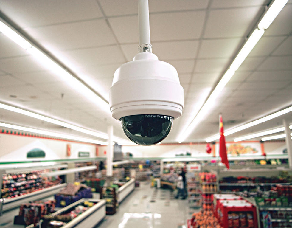 indoor hanging dome security cameras